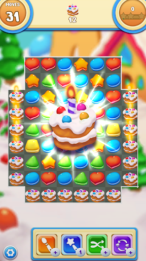 Cookie Macaron Pop : Sweet Match 3 Puzzle 1.5.4 screenshots 4