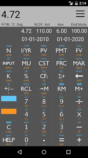 10bii Financial Calculator  screenshots 2