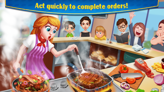 Crazy Cooking - Star Chef Screenshot