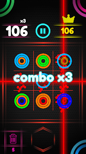 Color Ring Circle Puzzle Game
