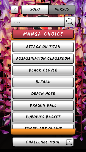 Manga Quiz - Take a Quiz on your favorite Mangas ! 3.32 screenshots 2