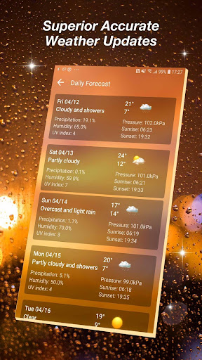 Live Weather Forecast App 16.6.0.6327_50169 Screenshots 5