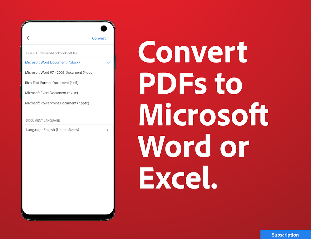 Adobe Acrobat Reader: PDF Viewer, Editor & Creator  poster 6