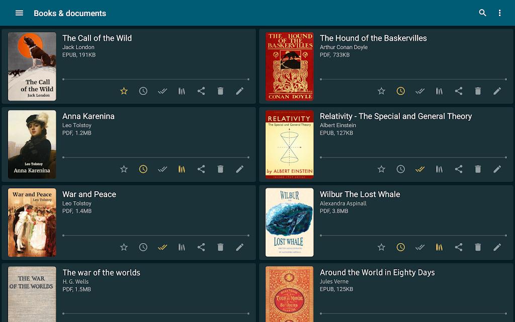 ReadEra Premium - book reader pdf, epub, word poster 17