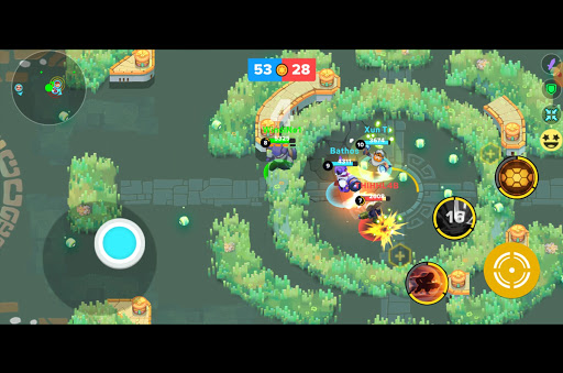 Heroes Strike Offline - MOBA & Battle Royale APK MOD (Astuce) screenshots 5