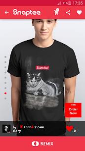 T-shirt design – Snaptee 1