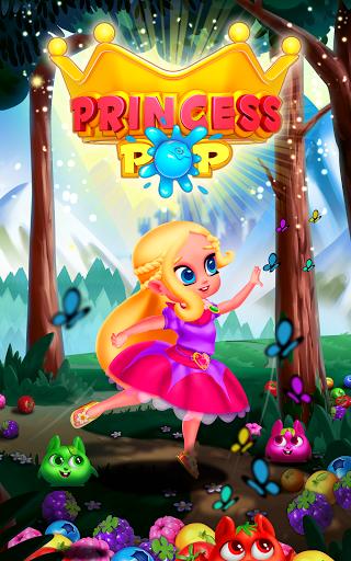 Bubble Shooter Princess Pop - Balloon & Ball Blast 5.3 screenshots 9