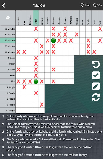 Logic Puzzles Daily - Solve Logic Grid Problems android2mod screenshots 5