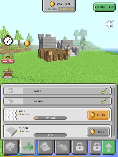 House Craft 3D - Idle Block Building Game Apkfinish screenshots 7