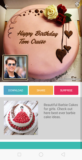 Birthday Cake With Name And Photo ud83cudf82 1.2 Screenshots 4
