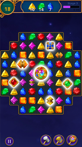 Jewels Magic: Mystery Match3 screenshots 2