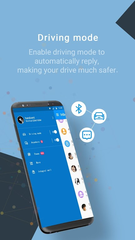Handcent Next SMS - Best texting w/ MMS & stickers  poster 5