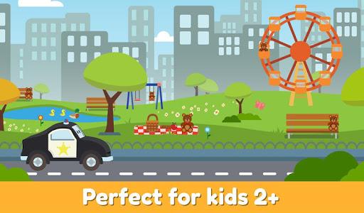 Car City Heroes: Rescue Trucks Preschool Adventure android2mod screenshots 23