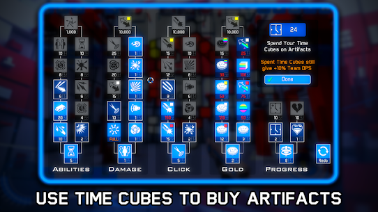 Time Clickers Mod Apk (Unlimited Gold) 4