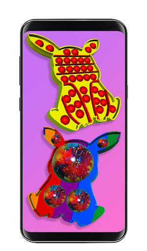 Pop it fidget toy 2! DIY calming asmr popers game apkpoly screenshots 11