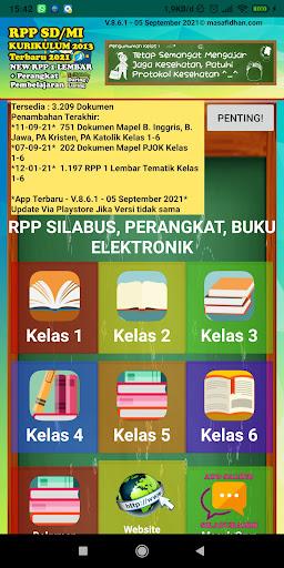 RPP SD/MI Kurikulum 2013 Revisi + Perangkat Guru screenshots 1