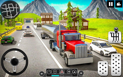 Oil Tanker Truck Driver 3D - Free Truck Games 2020 android2mod screenshots 3