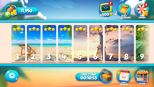 Solitaire TriPeaks Free Card Games  screenshots 6