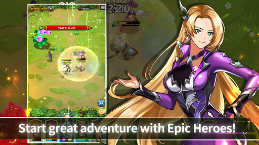 Epic Heroes Adventure : Action & Idle Dungeon RPG android2mod screenshots 2