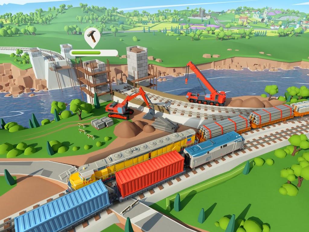 Train Station 2: Railroad Tycoon & Train Simulator poster 1