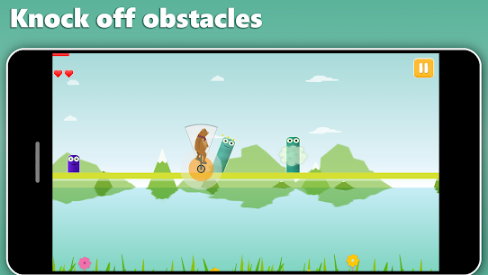 Unicycle Dash – Motion controlled runner Hack for iOS and Android 5