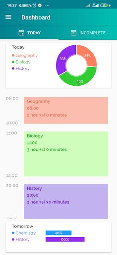 Study Time Planner screenshots 1