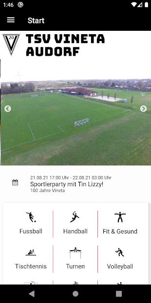 TSV Vineta Audorf screenshot 1