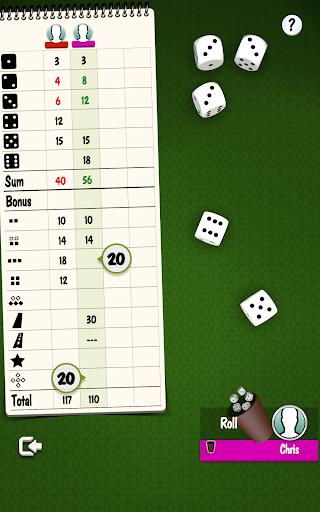 Yatzy Offline and Online - free dice game apktram screenshots 13