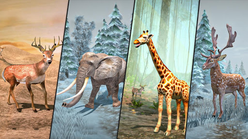 Deer Hunting Games 2020 - Forest Animal Shooting apktreat screenshots 2