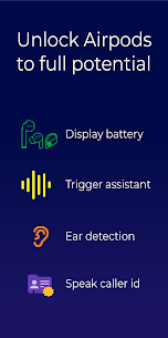 Free Assistant Trigger (Airpods battery  more) Apk Download 2021 5