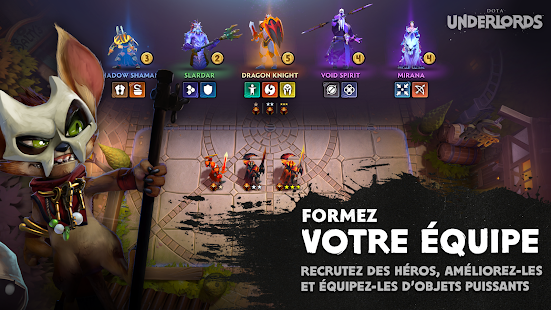 Dota Underlords Capture d'écran