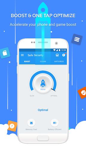 Safe Security -  Antivirus, Booster, Phone Cleaner 5.6.9.4834 Screenshots 1