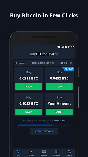 CEX.IO Cryptocurrency Exchange Apk 1