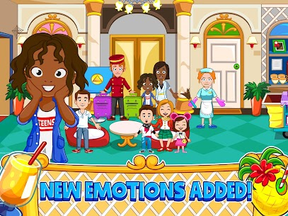 My Town : Hotel For Android [Paid, MOD] 7