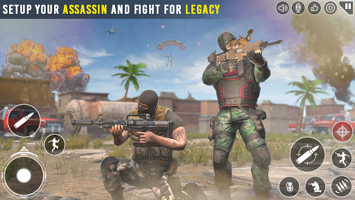Immortal Squad Shooting Games: Free Gun Games 2020 21.5.3.3 screenshots 1