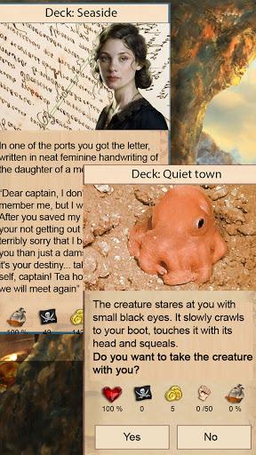 Captain's Choice: text quest Apkfinish screenshots 5