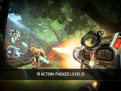 "Download NOVA Legacy action game ""Nova Heritage"" Android gameplay + mod 3"