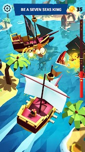 Pirate Sea Kings: Ship Simulator Game Hack Android and iOS 4