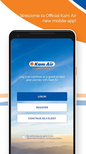 kam air trustable wings screenshot 1