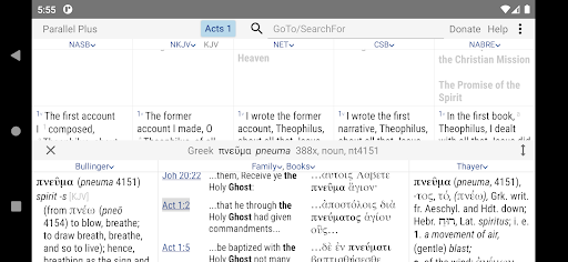 Parallel Plusu00ae offline Bible app with helps android2mod screenshots 4