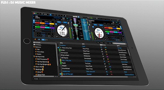 VIRTUAL Pacemaker Dj - Djing & Mix your music Screenshot