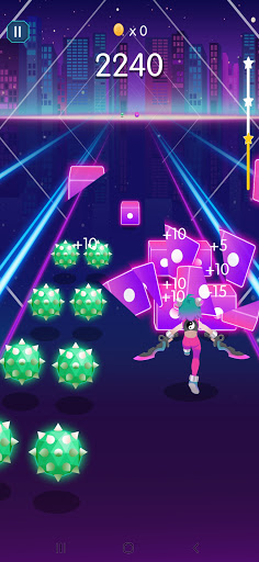 Music Blade: EDM Rhythm Sword apkpoly screenshots 4