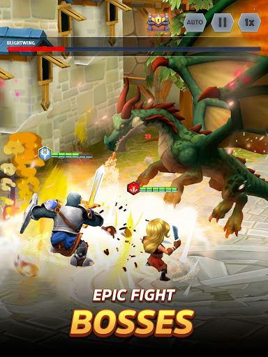 Kingdom Boss - RPG Fantasy adventure game online  screenshots 11