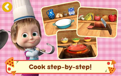 Masha and the Bear Pizzeria Game! Pizza Maker Game  screenshots 20