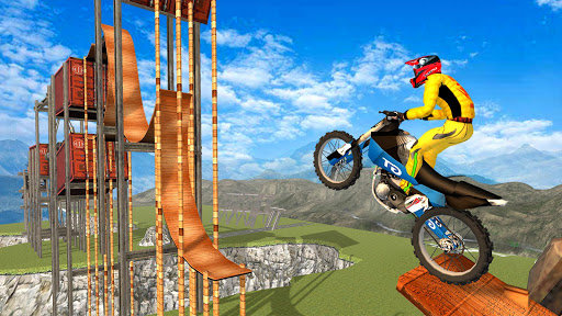 New Bike Racing Stunt 3D : Top Motorcycle Games 0.1 screenshots 4