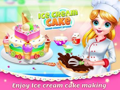 Ice Cream Cake Making: Tatlı Şef Full Apk İndir 6