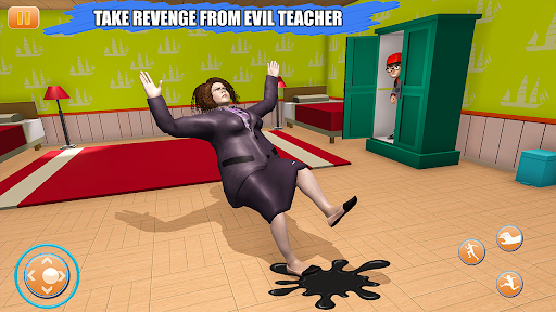 Scary Bad Teacher 3D - House Clash Scary Games  screenshots 5