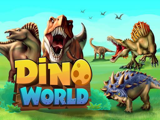 DINO WORLD - Jurassic dinosaur game 12.50 screenshots 1