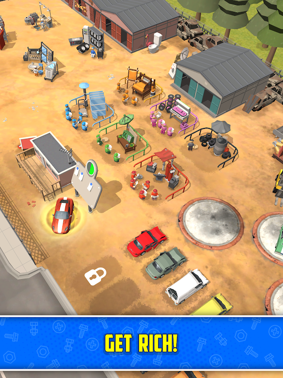 Scrapyard Tycoon Idle Game poster 21