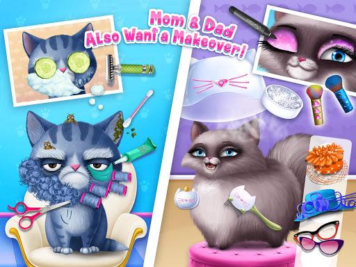 Cat Hair Salon Birthday Party - Virtual Kitty Care 8.0.80007 screenshots 13
